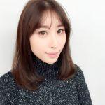 シースルーバング+ミディアムスタイル☆